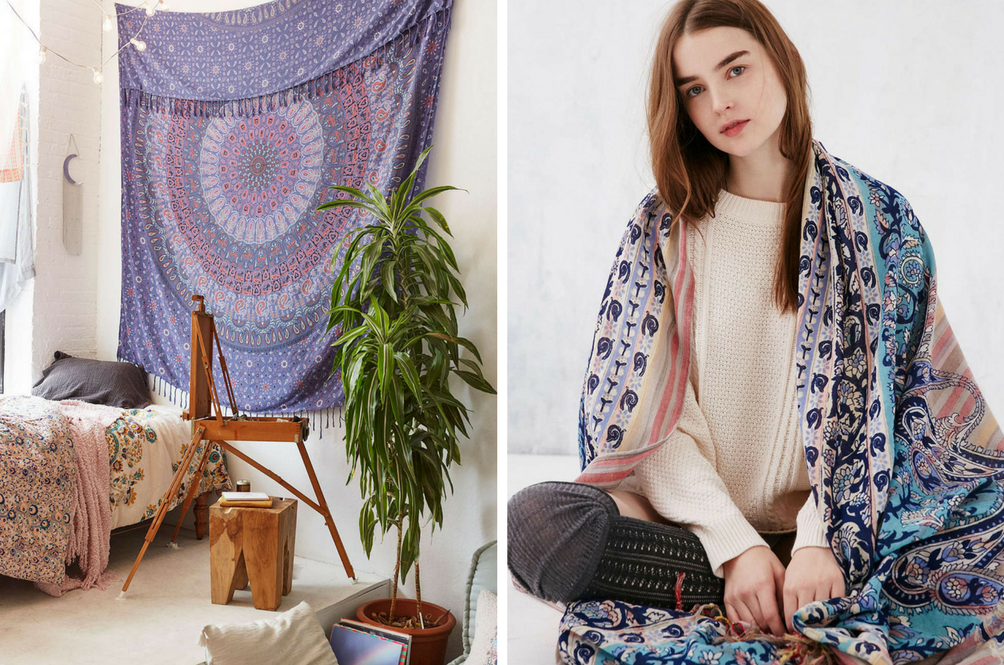 5 Beautiful Ways You Can Use Your Bohemian Tapestry