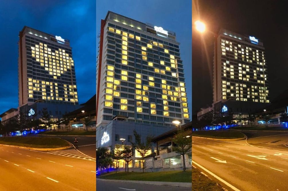 #MYHero: [PHOTOS] This Hotel In Bangi Leaves Sweet Notes For Our Frontliners Every Night