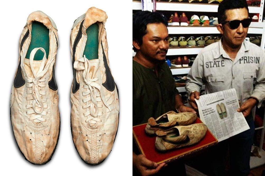 Rare Pair Of Nike Moon Shoes