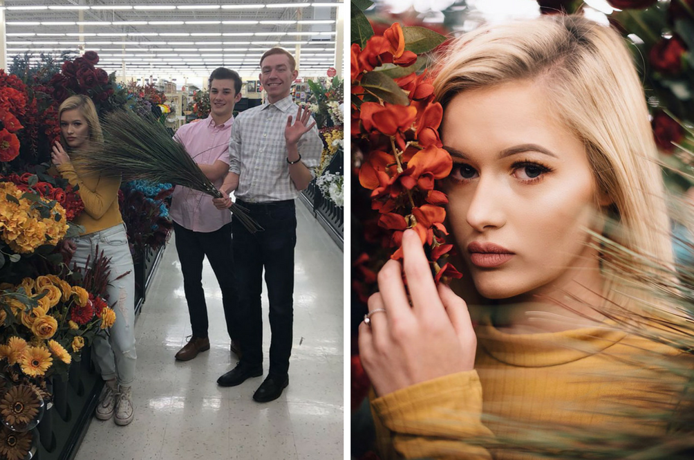 No one would believe you went to a supermarket to take these photos.