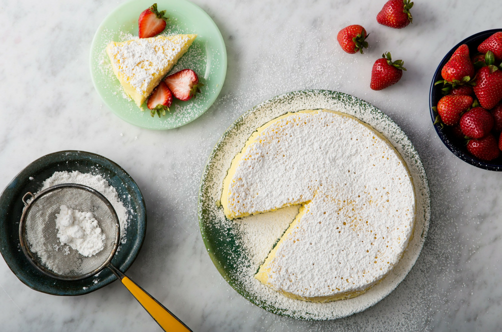 People are Freaking Out Over How Ridiculously Easy This Japanese Cheesecake Recipe is