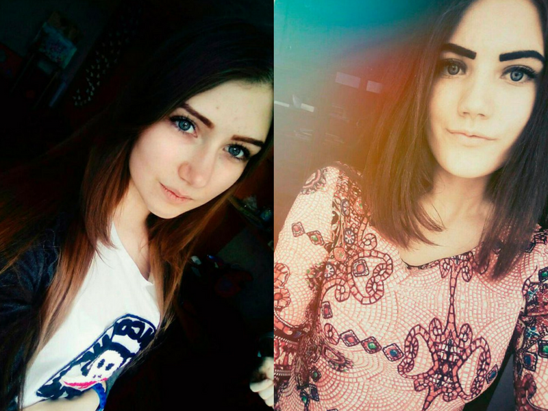 Veronika (L) and Yulia (R).