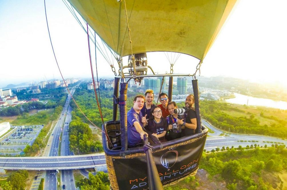 Pi Mana – MyBalloon Adventure Putrajaya