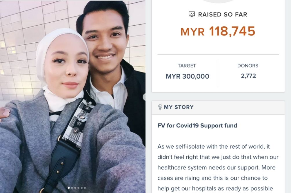 Vivy Yusof Helped Raise RM100k Overnight For COVID-19 Patients And Frontliners