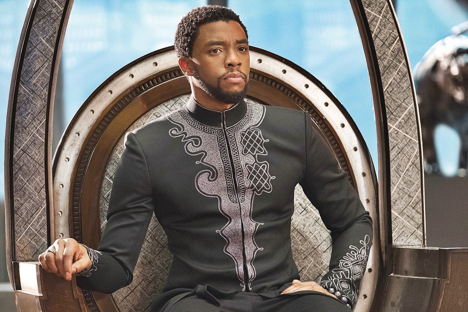 T'Challa son of T'Chaka wearing the coolest outfit that'll make kurta designers T'Chabar.