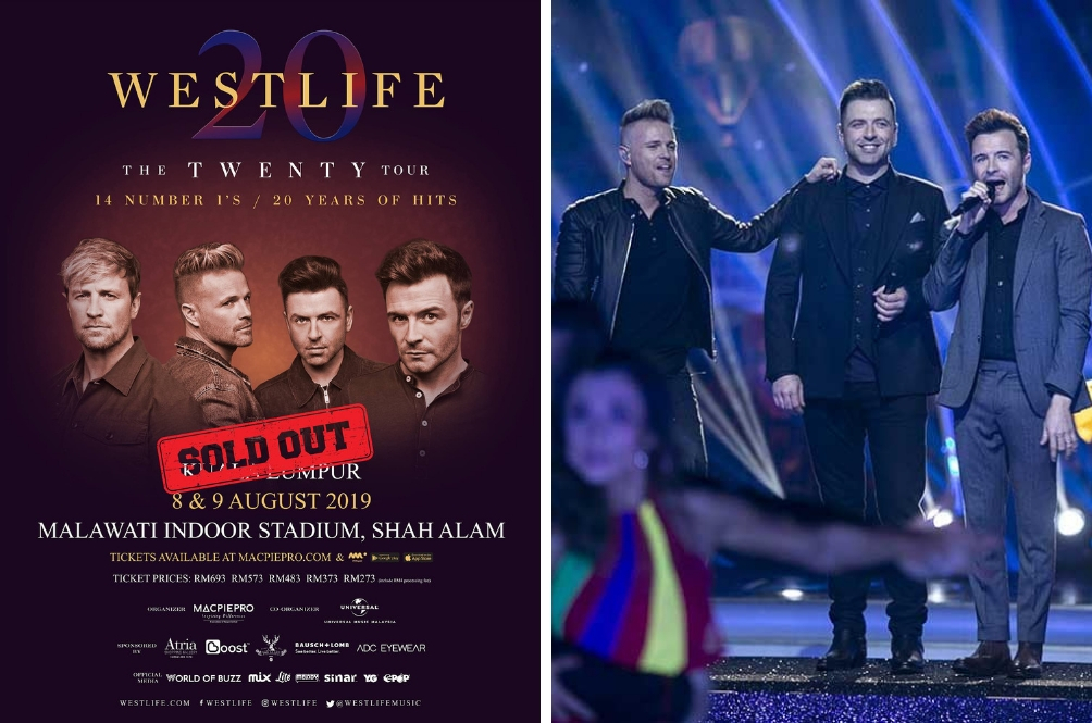 You Snooze, You Lose: Westlife Live In Malaysia Concert