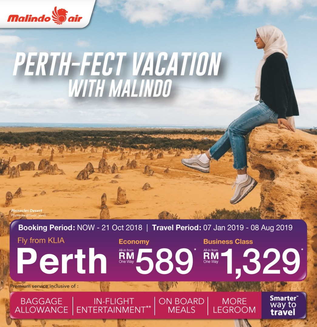 BRB, booking a flight ticket to Perth now.