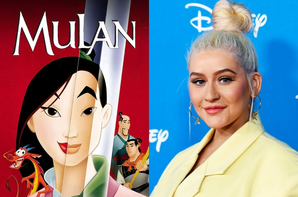 Christina Aguilera Says She Has A 'New' Song For The Live-Action Film 'Mulan'