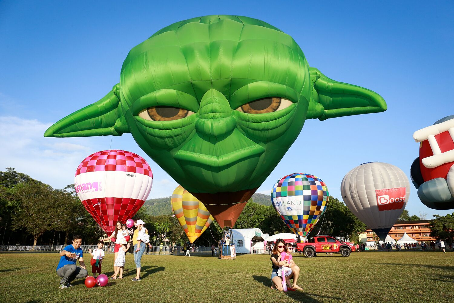They resurrected Yoda for this event.