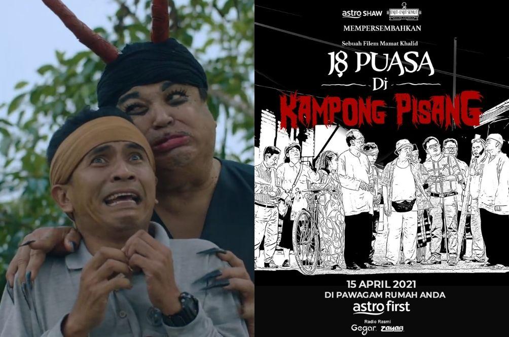 Mamat Khalid Is Back With Another Hilarious Film – '18 Puasa Di Kampung Pisang'