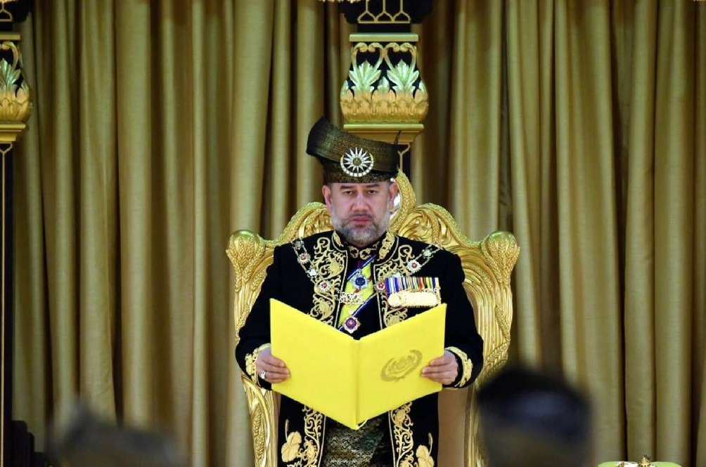 The Yang di-Pertuan Agong Has Agreed To A 10 Per Cent Salary Cut