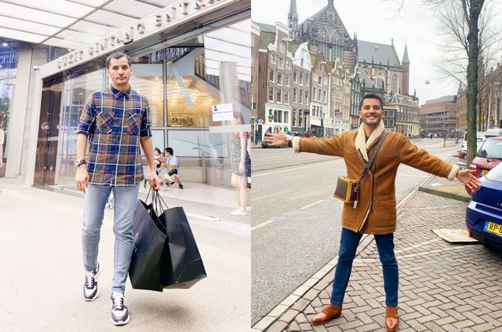 Cosmetics Millionaire Aliff Syukri Says He's Sad Because He Can't Go Shopping Overseas
