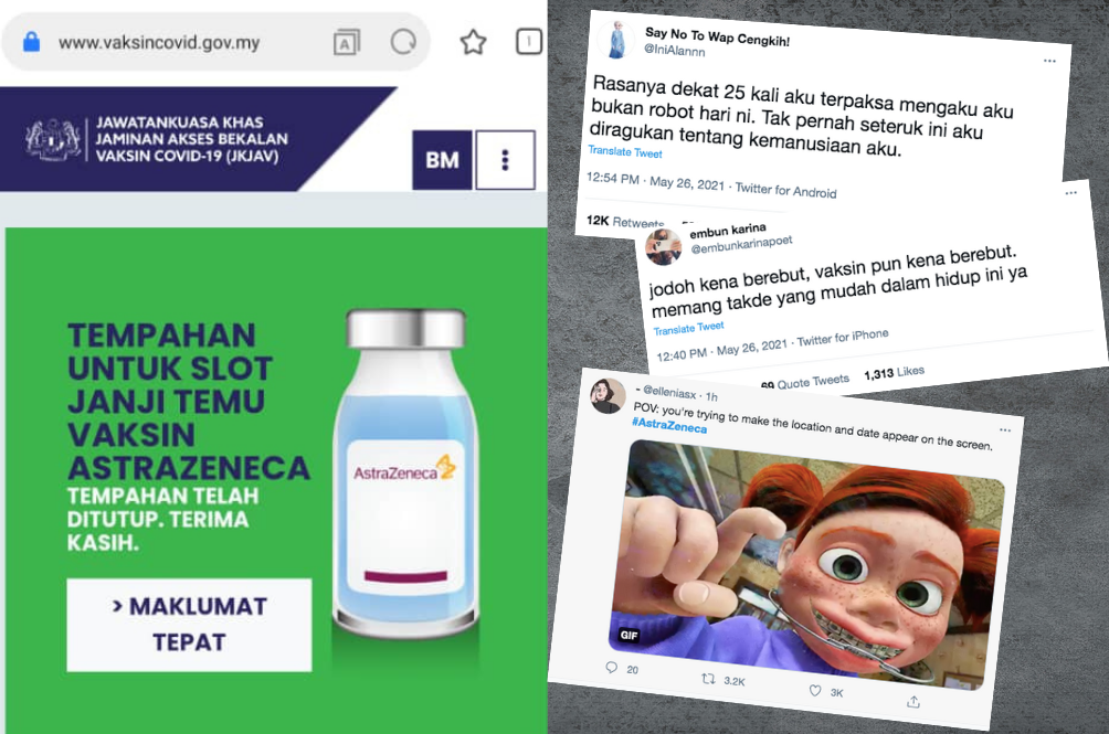 Netizens Hilariously (And Angrily) React To The AstraZeneca Registration Drama