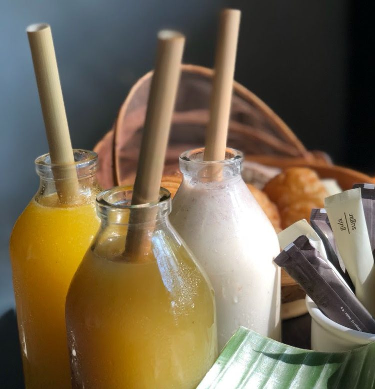 Bamboo straws are the way to go.