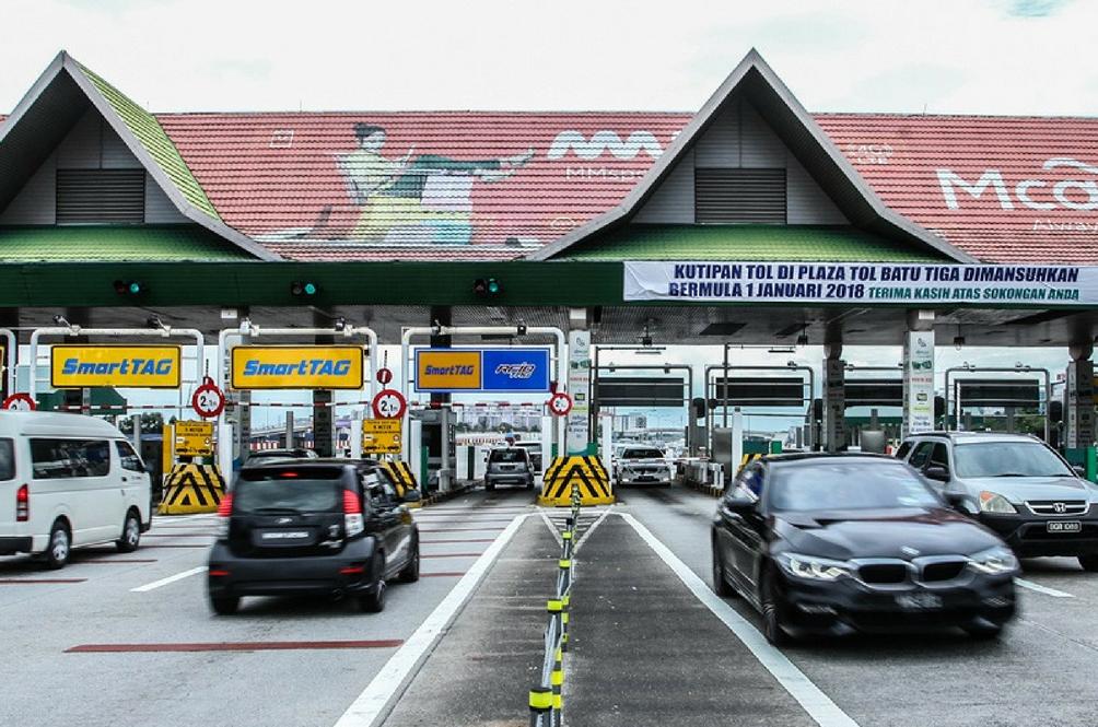 Batu Tiga Toll Plaza To Be Demolished In March 2018