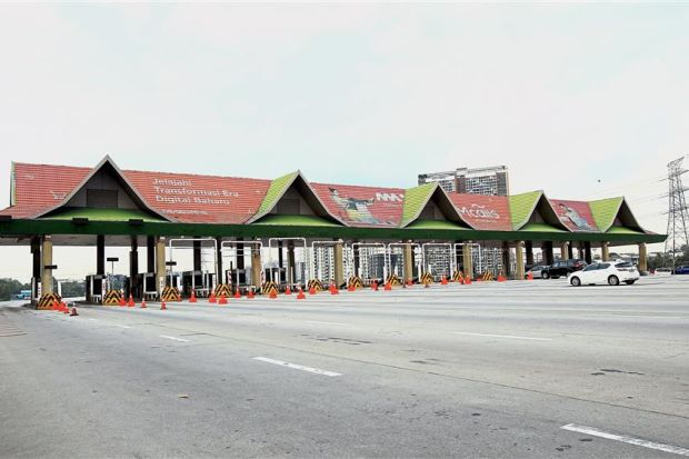 Goodbye Batu Tiga toll, you won't be missed.