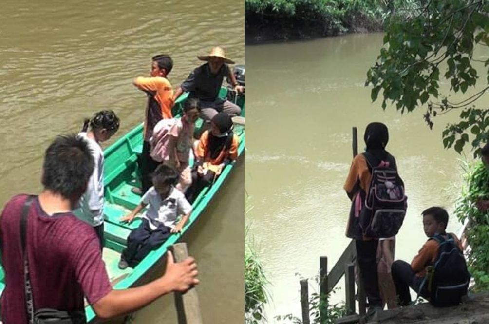 20 Sabahan Students Almost Drowned After Their Boat To School Capsized