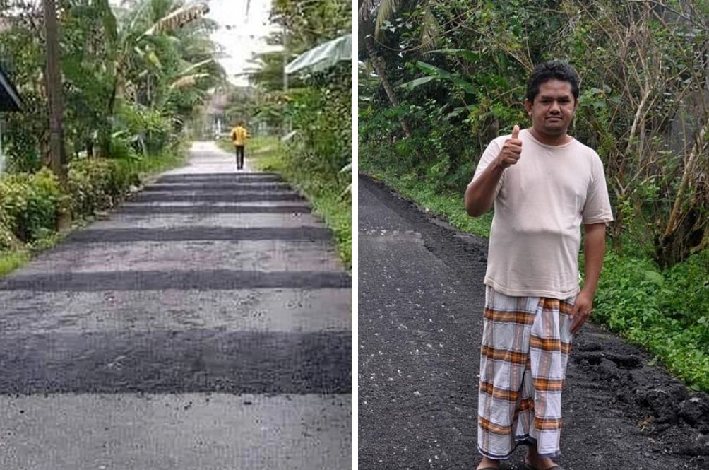 Terengganu Man Built 11 Speed Bumps Next To His House Because He Was Annoyed With Noisy Vehicles