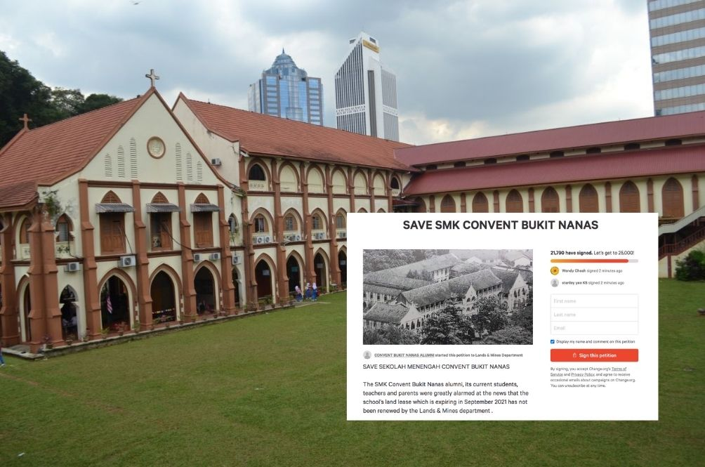 Malaysians Have Launched A Petition To Help Save Convent Bukit Nanas From Redevelopment