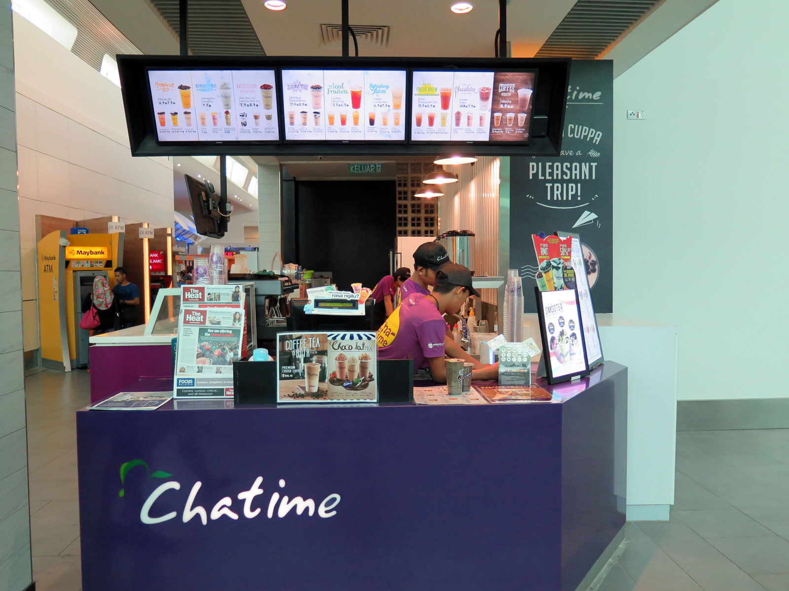 So will all Tealive outlets become Chatime outlets soon?