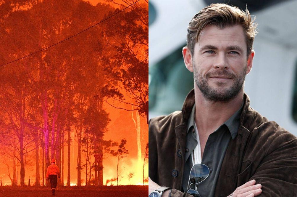 Chris Hemsworth Pledges RM2.8mil Aid To Help Fight Australia's Deadly Bushfires