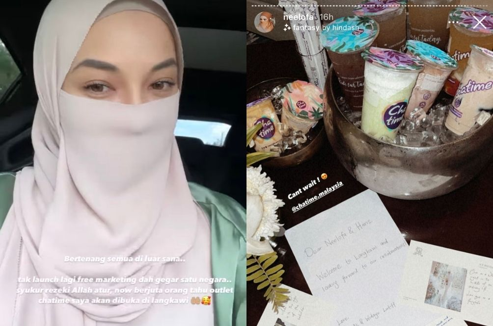 Neelofa Says She's Thankful For All The Free Marketing We're Giving To Her And Chatime