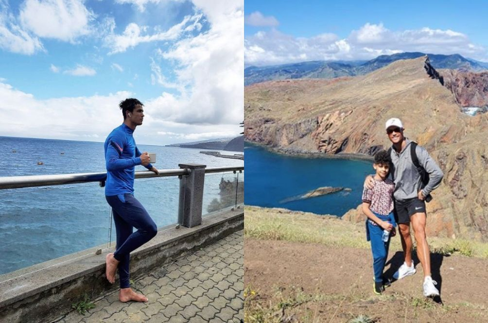 Cristiano Ronaldo Explores His Own Private Island During COVID-19 Lockdown, Netizens In Awe