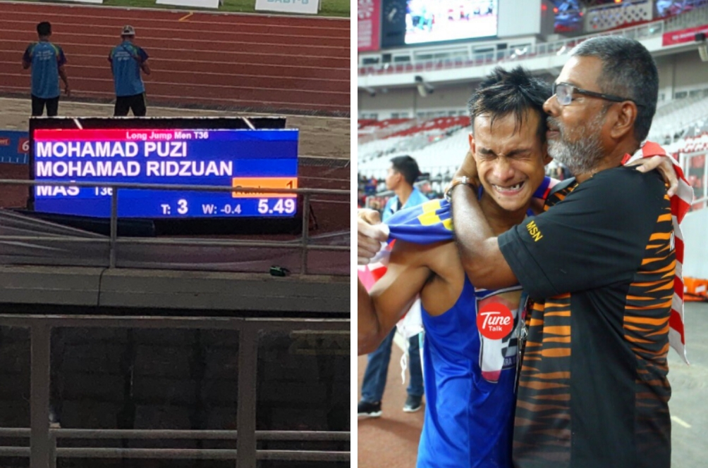 Ridzuan Puzi Is Truly #LuarBiasa – He Won Another Gold Medal And Broke The Asian Record