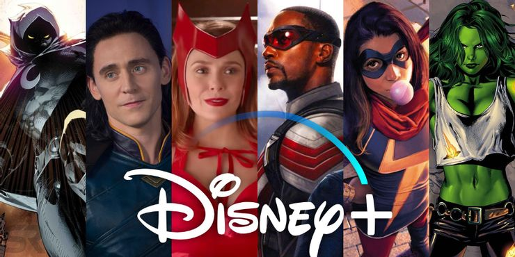 Upcoming MCU titles coming to Disney+