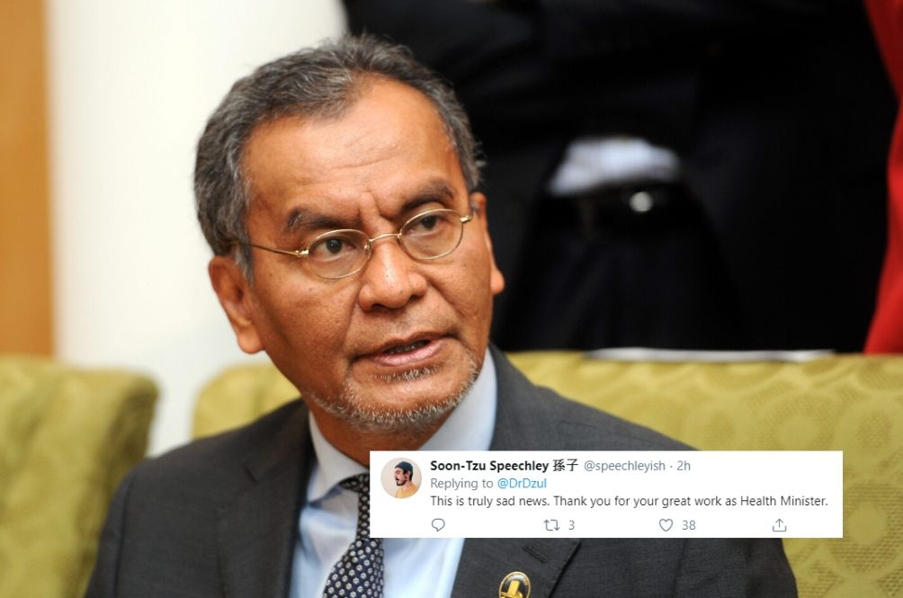 Dr. Dzulkefly Hints At His Last Day As Health Minister, Malaysians Left Heartbroken