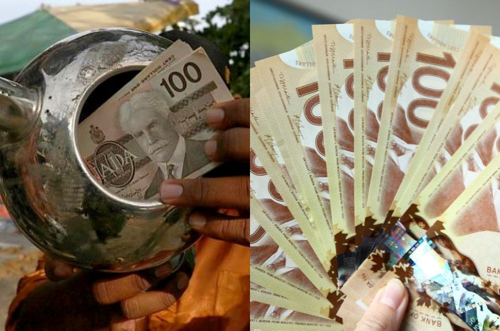 A Malaysian Found A Stack Of Canadian Money In A Kettle And Is Looking For Its Owner