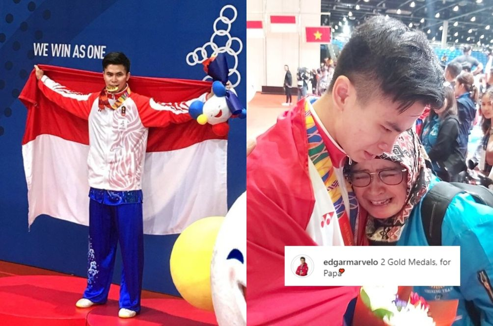 Indonesian Athlete's Dad Passes Away During SEA Games Event; Wins Gold Medal For Him