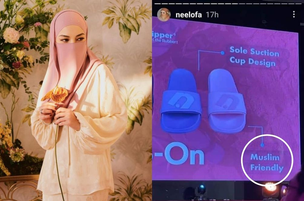 "Neelofa Launches ""Muslim-Friendly"" Slippers With Fipper, Drawing All Sorts Of Reactions"