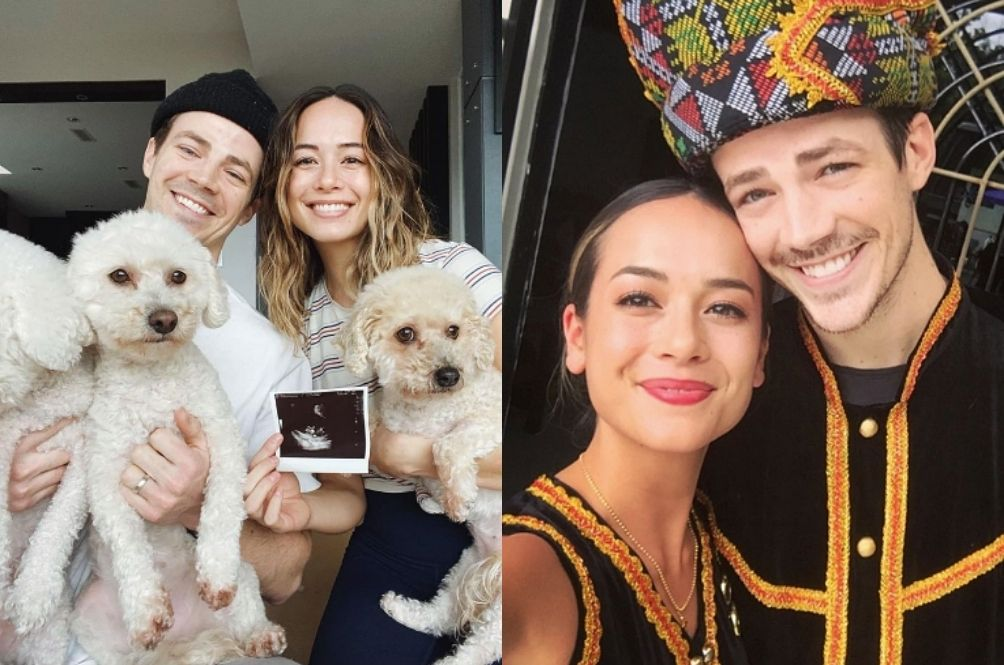 Grant 'The Flash' Gustin And Sabahan Wife Are Expecting Their First Child