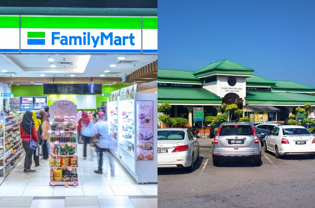Family Mart, Sushi King, And Many More Coming To R&R Stops Across Malaysia