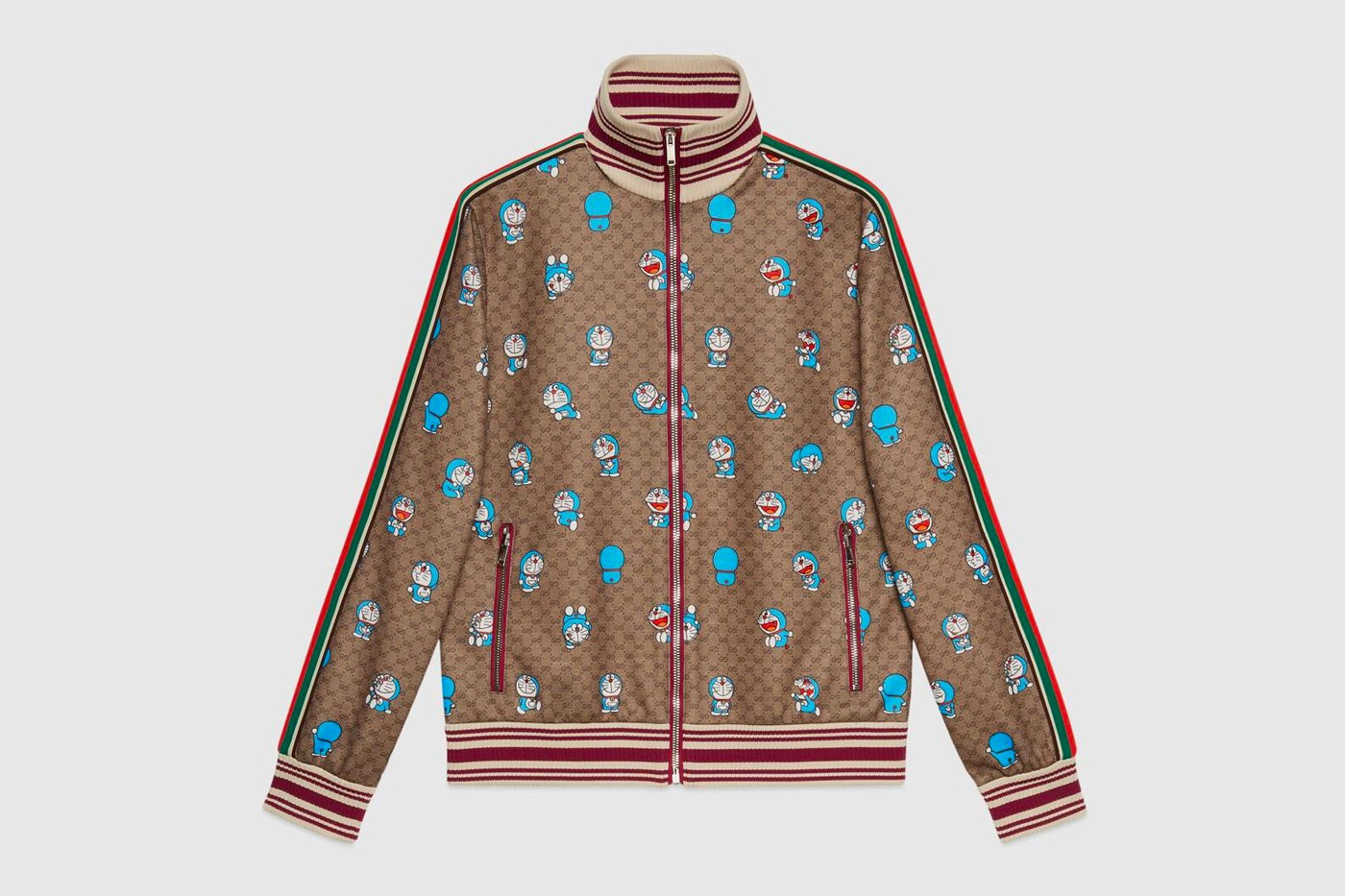 Gucci and Doraemon all over.