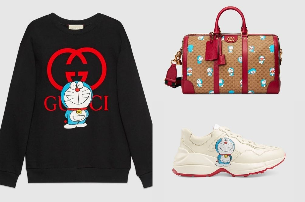 [PHOTOS] The 'Doraemon' X Gucci Collaboration Is Probably The Cutest Collab You've Ever Seen