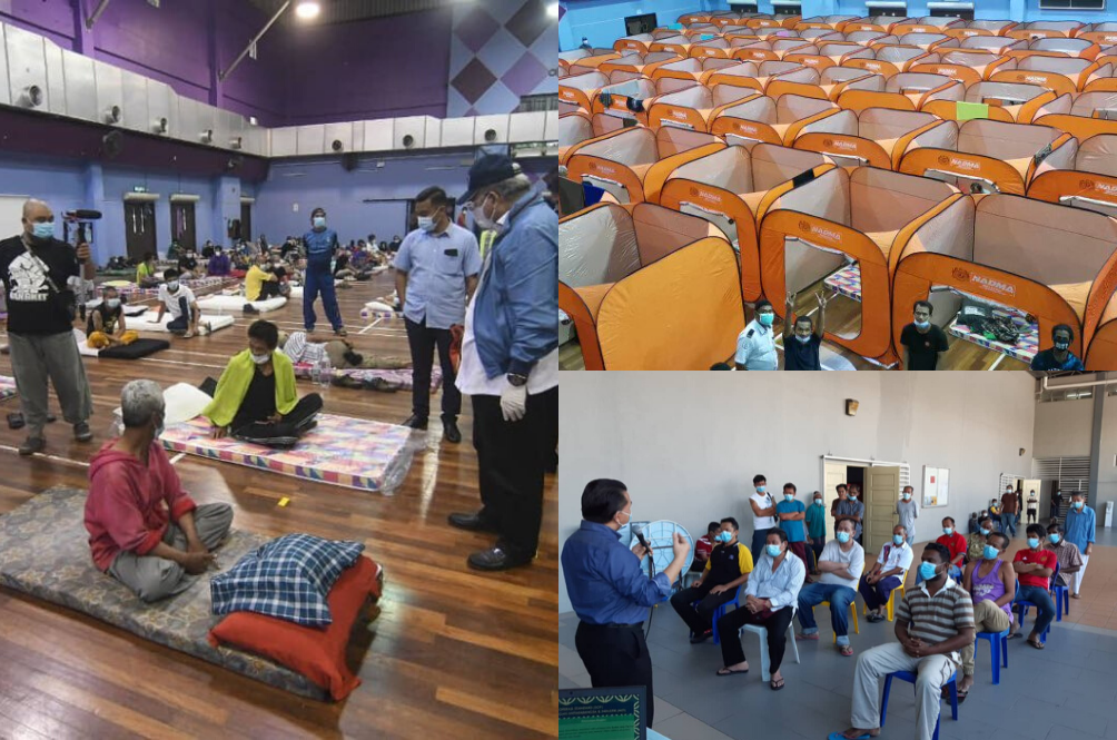 FT Minister: After Sheltering 800 Homeless During MCO, They Are Now Going To Job Interviews