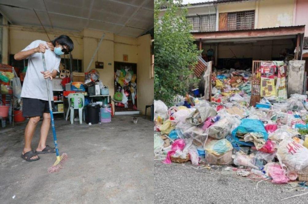 Authorities Confirm Perak Retired Teacher Hoarding Rubbish Is Actually Mentally Sane