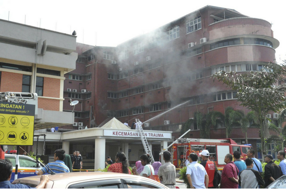 Health Ministry Finally Reveals the Real Cause of the Sultanah Aminah Hospital Fire