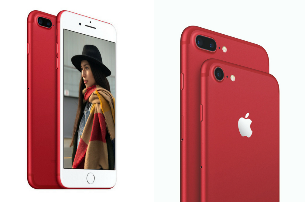 Are You Red-y For The Special Edition Red iPhone 7 and iPhone 7 Plus?