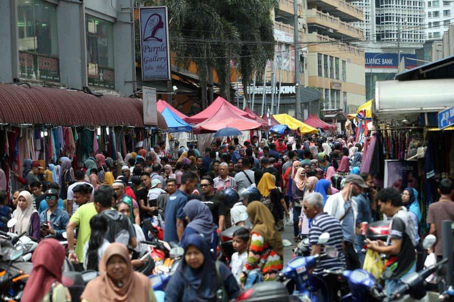 Remember the legendary Ramadan bazaar at Jalan TAR?