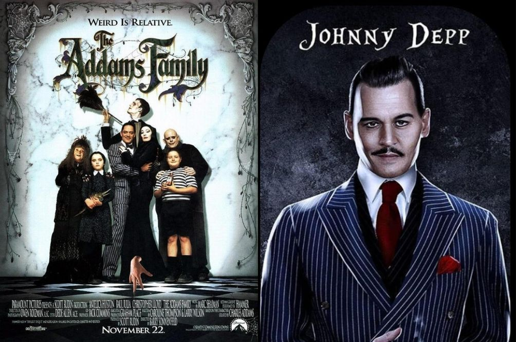 Johnny Depp Reportedly Eyed To Play Gomez Addams In 'Addams Family' Netflix Series
