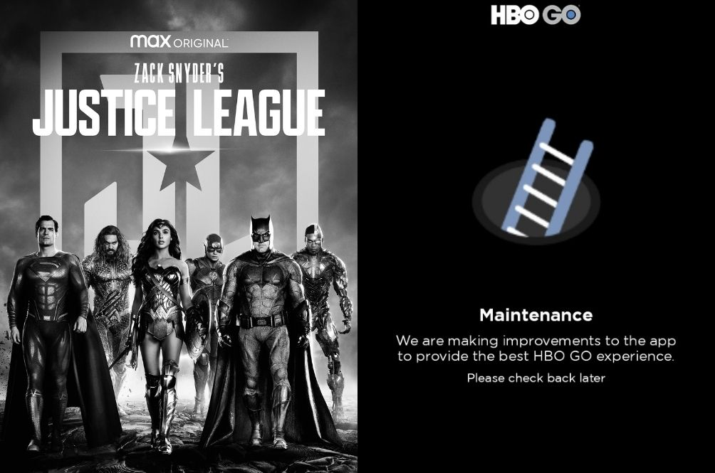 HBO GO's Servers Crashed Thanks To The Power Of 'Zack Snyder's Justice League'