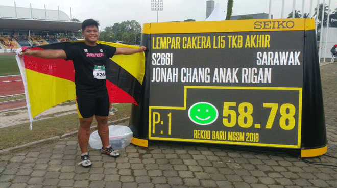 Jonah during the MSSM tournament last year.