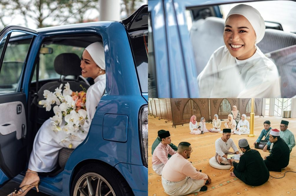Local Wedding Goes Viral After Bride Arrives In A Kelisa; Ceremony Attended By Only 11 People