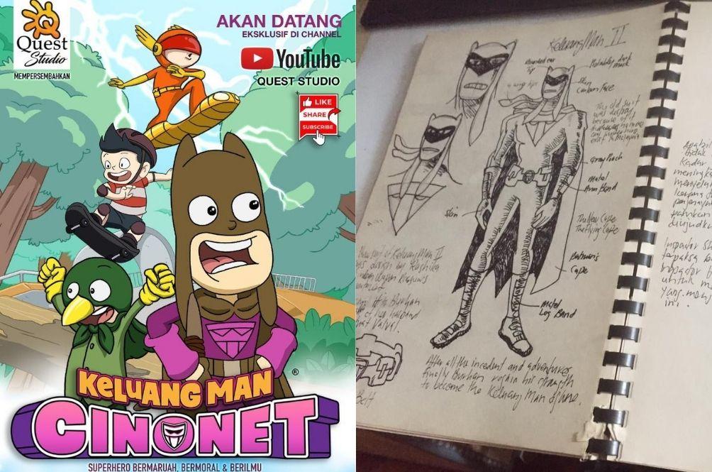 Popular 90s TV Show 'Keluang Man' Is Set To Return In A New  'Cinonet' Series