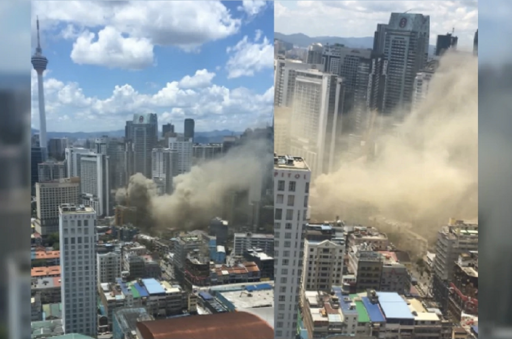 Building Razed in Bukit Bintang Fire Causes Distress