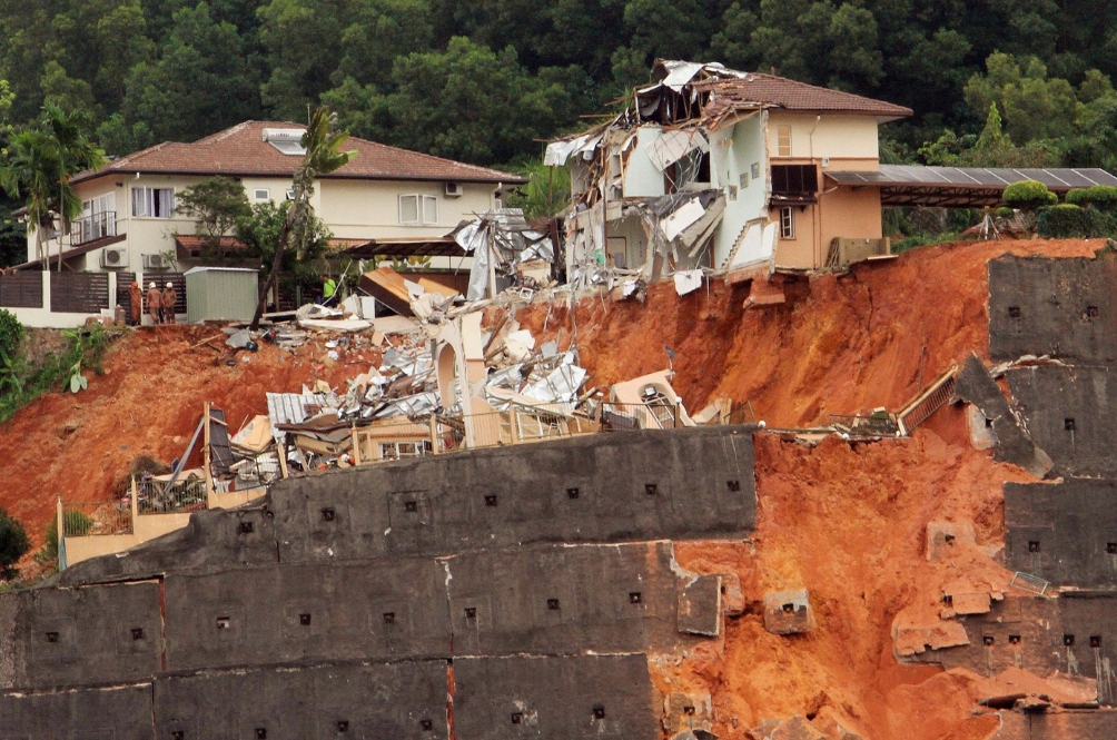 Malaysia Is Listed As One Of The Top 10 Countries Most Prone To Landslides
