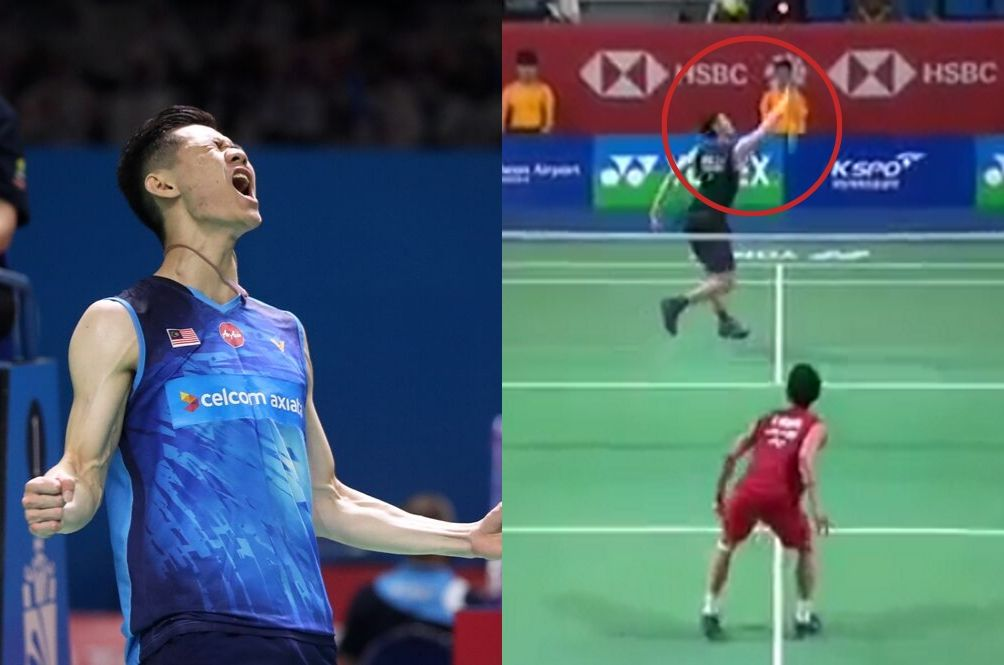 Lee Zii Jia Served World's #1 Badminton Player With Iconic Backhand Smash, M'sians In Awe
